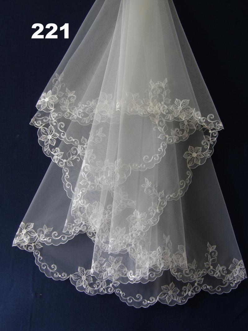 Свадебная фата Fatissimo 221