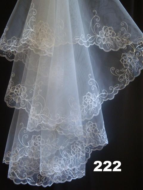 Welon ślubny Fatissimo 222