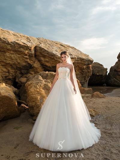 Wedding Dress Supernova SN-038-Pepita