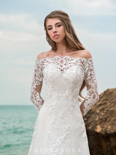 Wedding Dress Supernova SN-047-Pollyanna