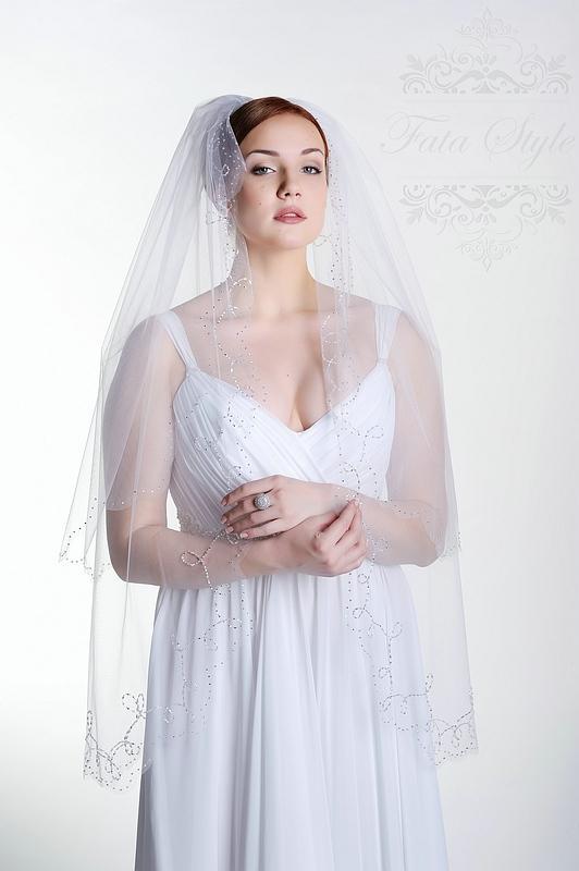 Свадебная фата Fata Style Шахерезада
