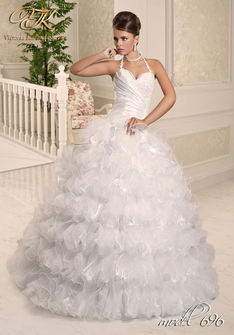Свадебное платье Victoria Karandasheva 696