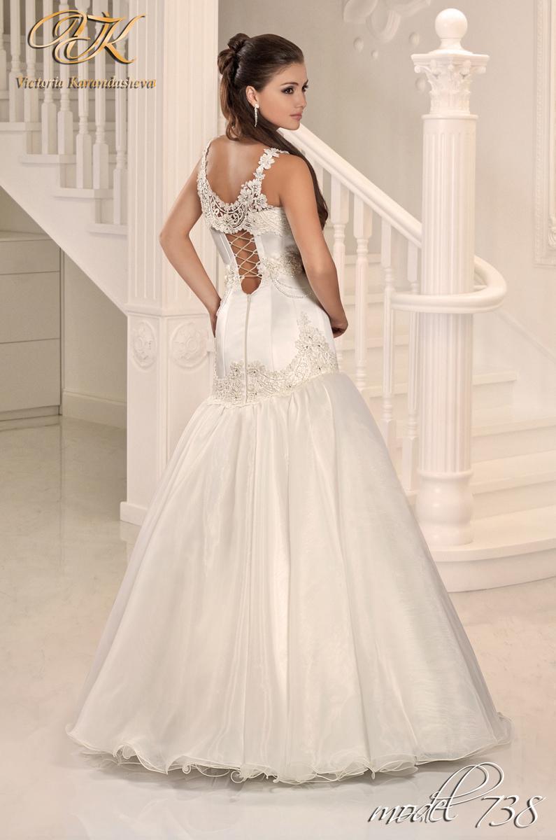 Свадебное платье Victoria Karandasheva 738
