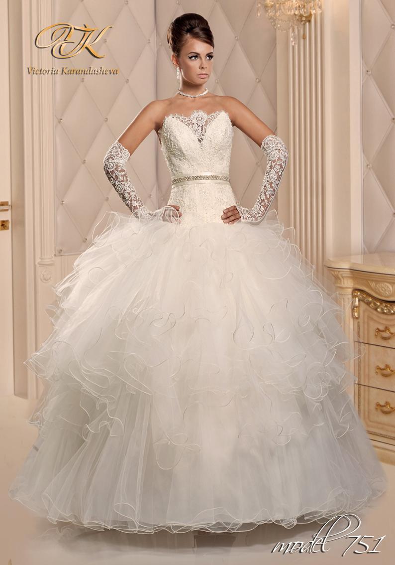 Свадебное платье Victoria Karandasheva 751
