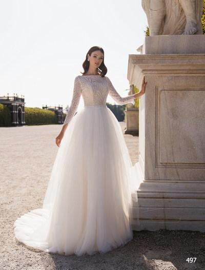 Wedding Dress Elena Novias 497