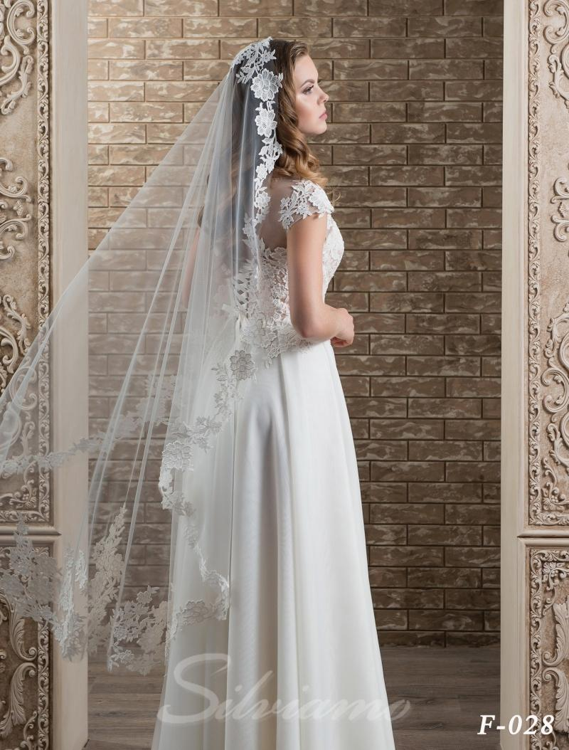 Свадебная фата Silviamo F-028