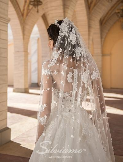 Wedding Veil Silviamo F-030