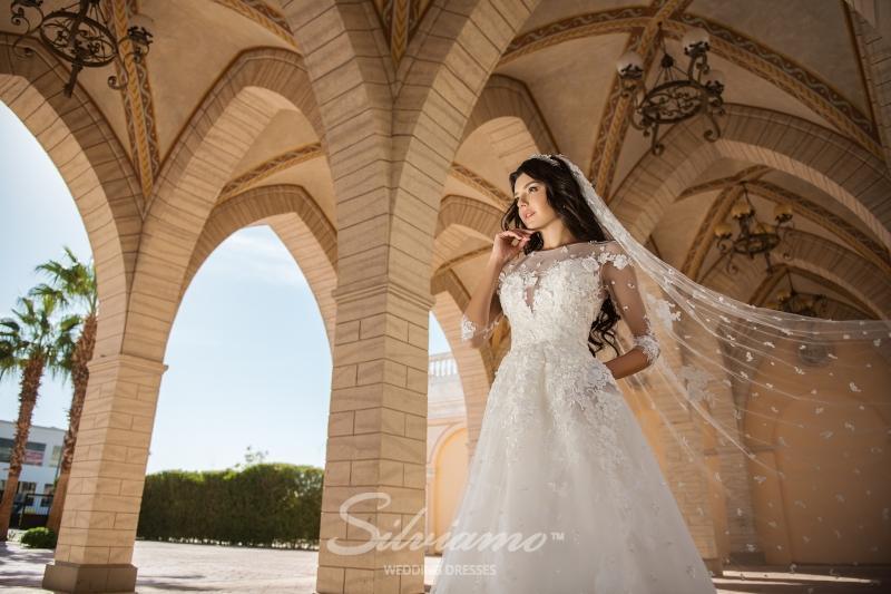 Свадебная фата Silviamo F-030