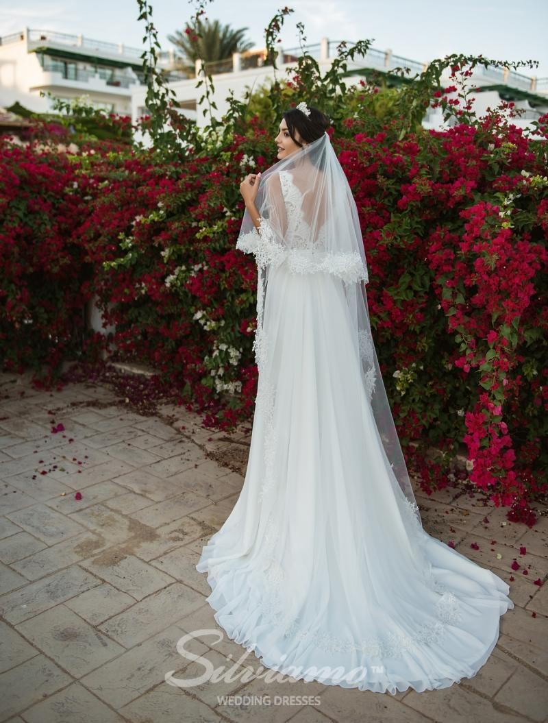 Свадебная фата Silviamo F-034