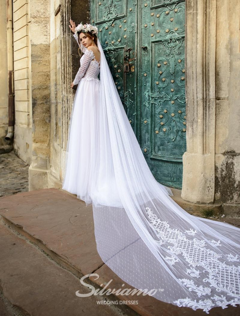 Svatební závoj Silviamo F-045