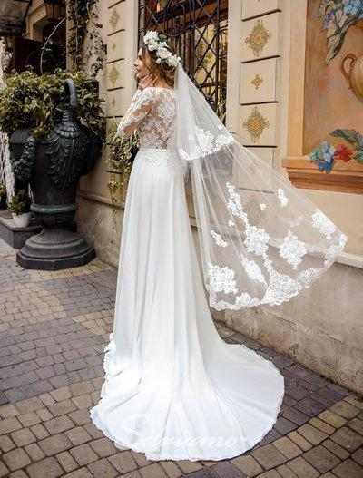 Wedding Veil Silviamo F-046