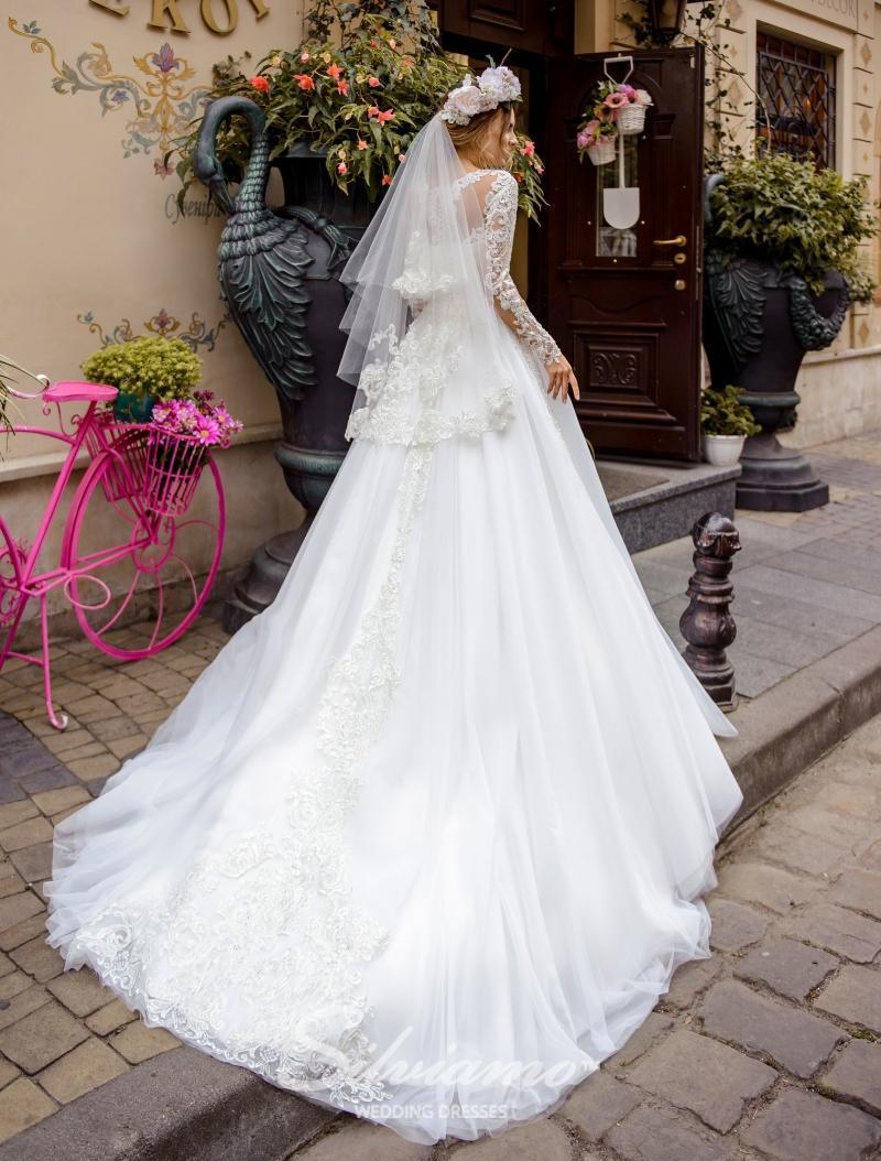 Svatební závoj Silviamo F-048