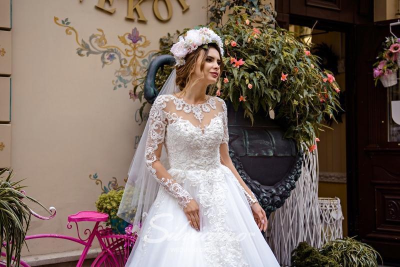 Свадебная фата Silviamo F-048