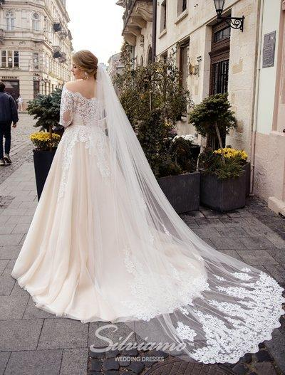 Wedding Veil Silviamo F-049