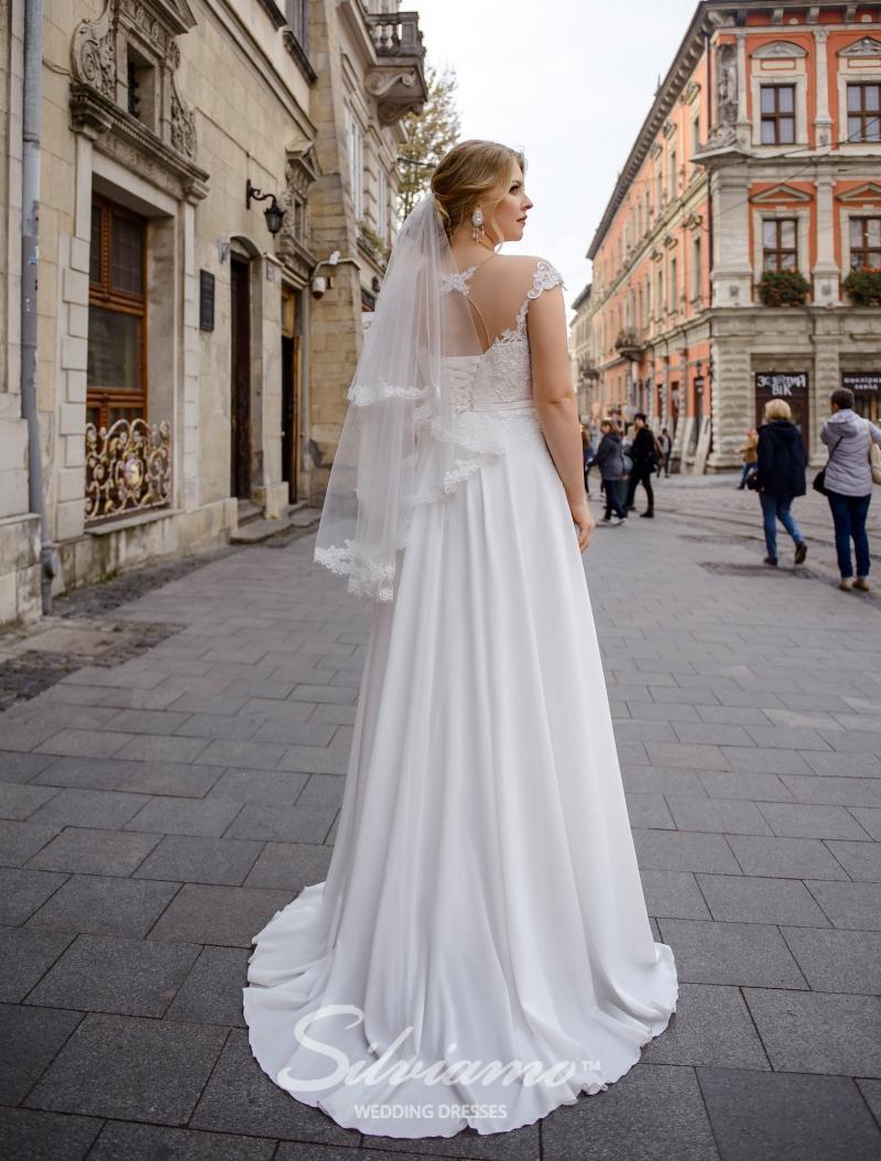 Svatební závoj Silviamo F-050