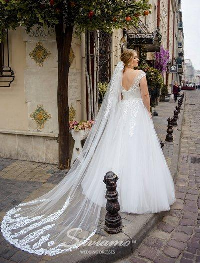 Wedding Veil Silviamo F-051