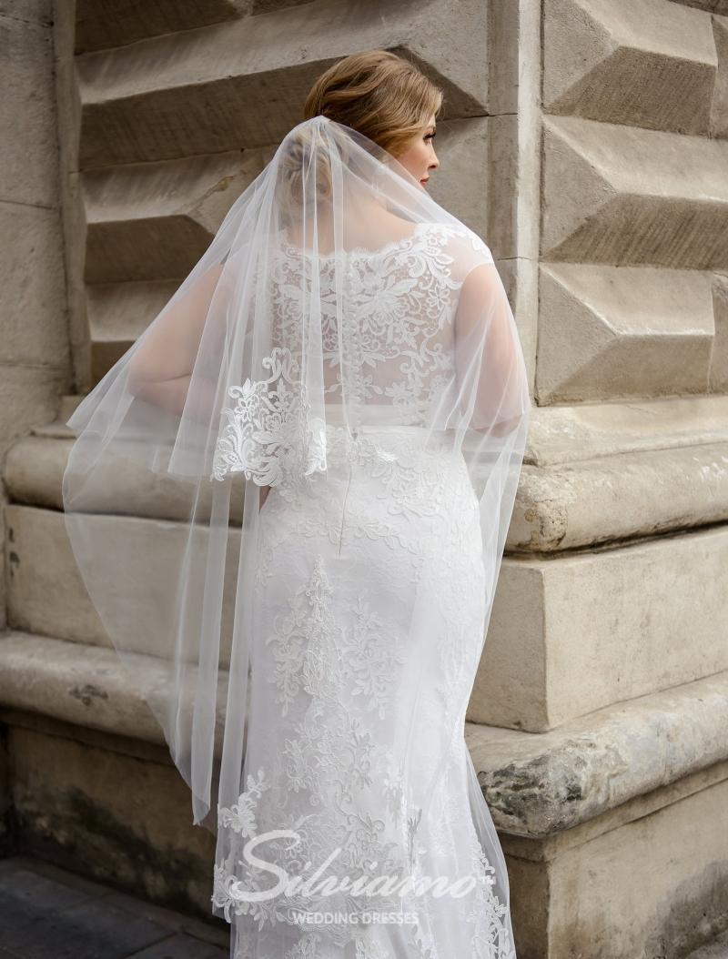 Huwelijkssluier Silviamo F-052