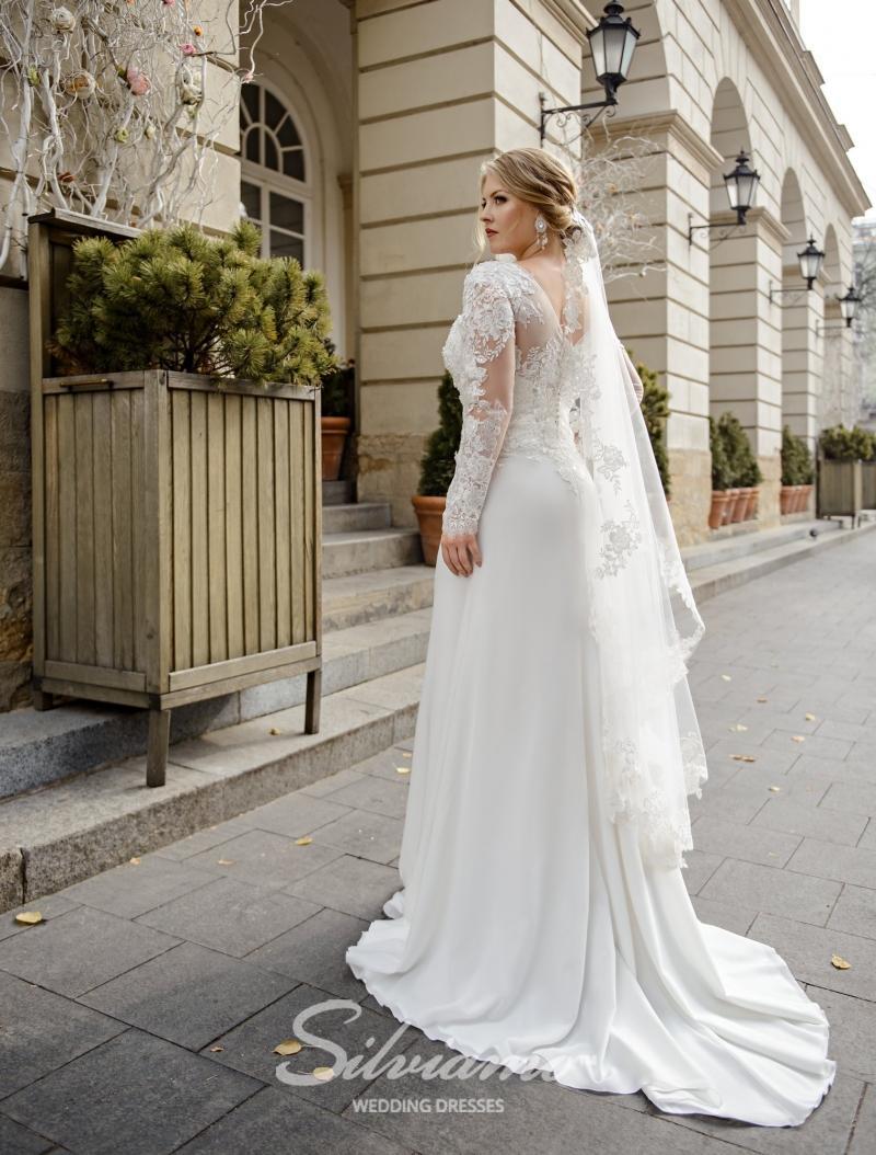 Svatební závoj Silviamo F-056