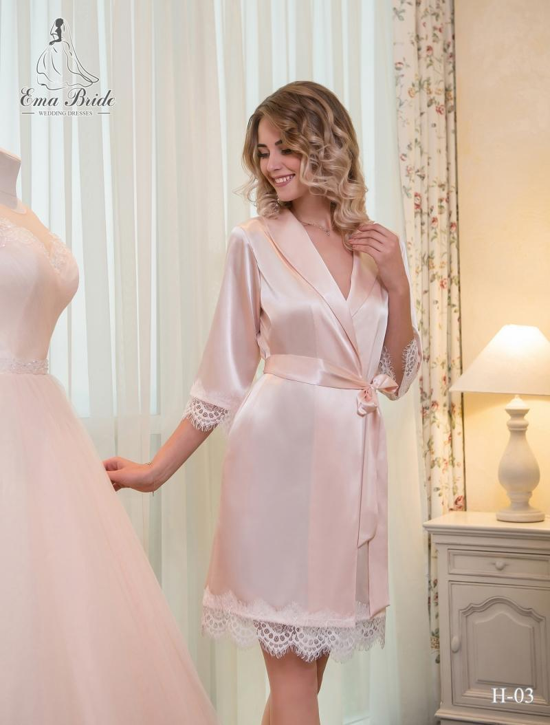 Bridal Nightgown Ema Bride H-03