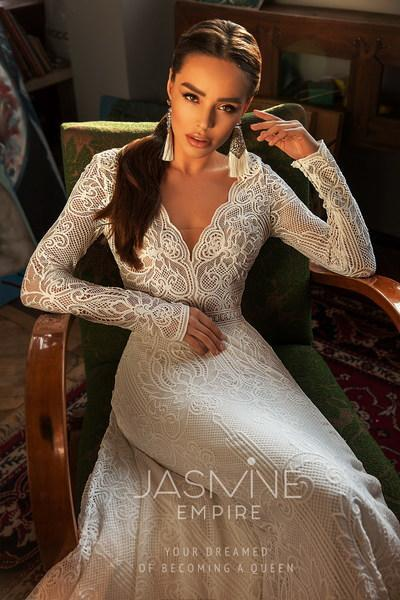 Robe de mariée Jasmine Empire Angela