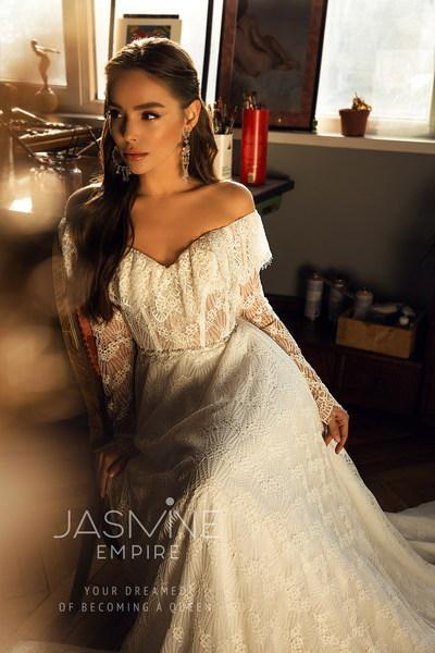 Robe de mariée Jasmine Empire Peris