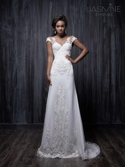 Abito da sposa Jasmine Empire Terry