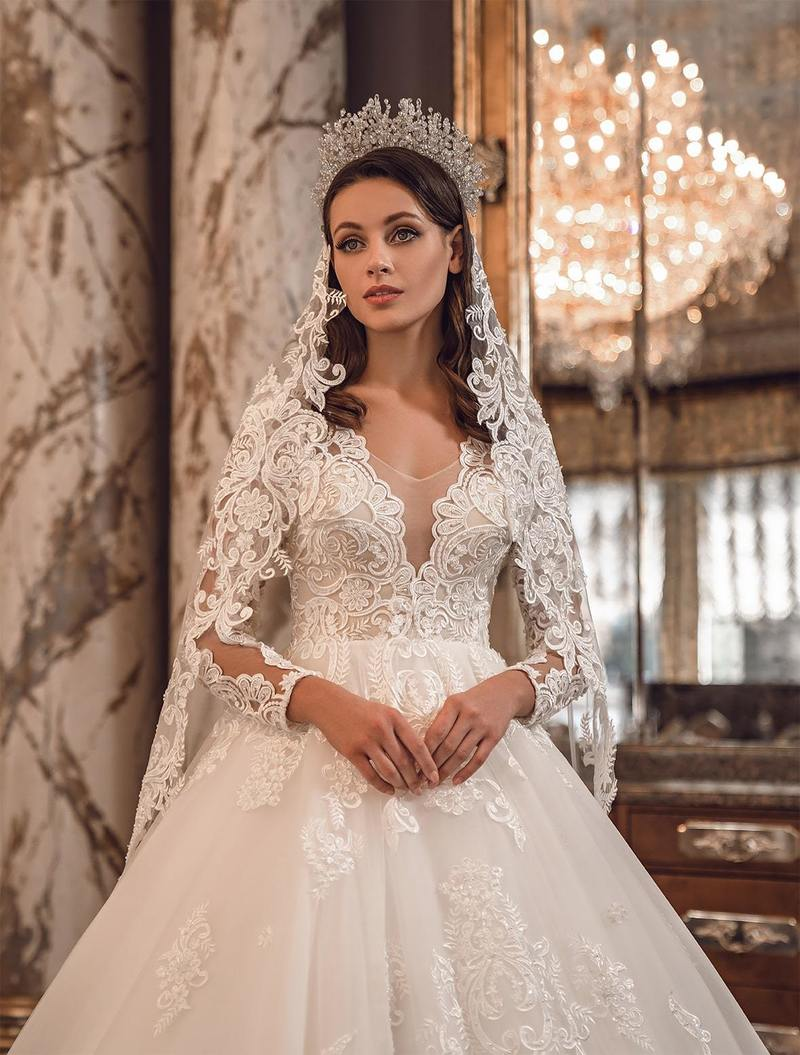 Velo de novia Mary Lizza ML-V-012