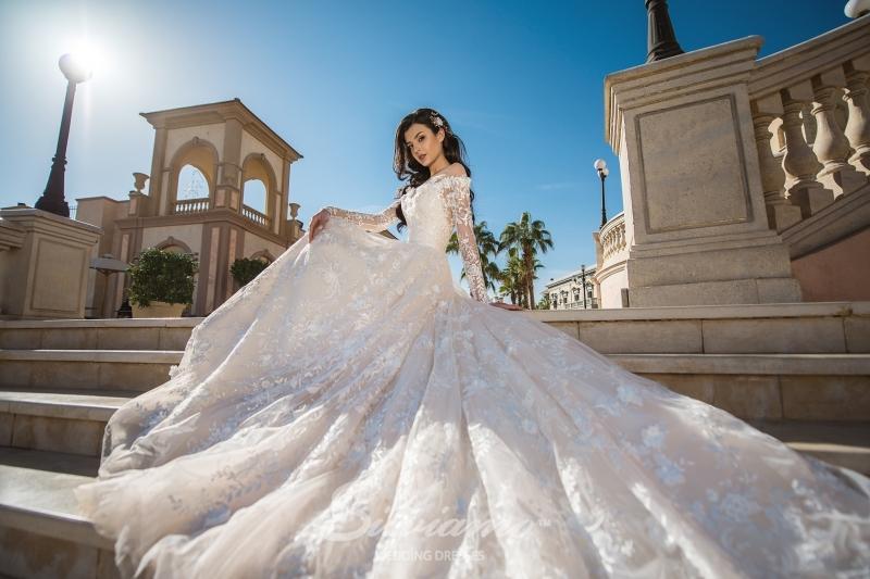 Свадебное платье Silviamo S-405-Angelina
