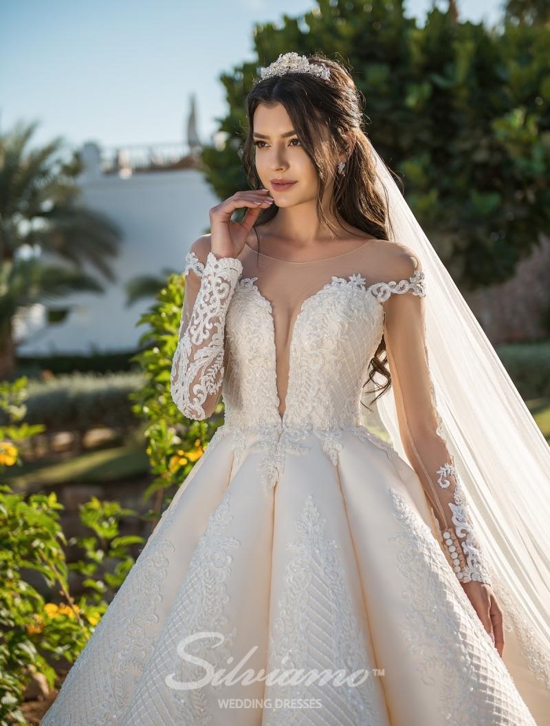 Vestido de novia Silviamo S-407-Adelina