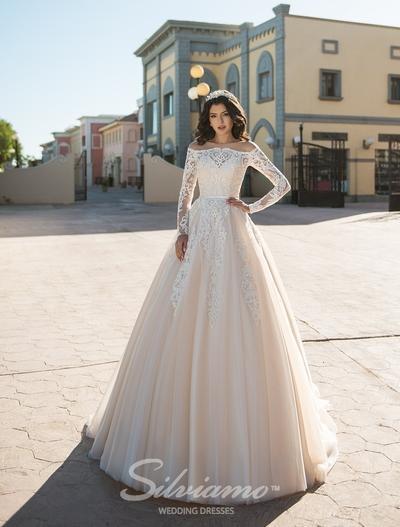 Свадебное платье Silviamo S-408-Andromeda