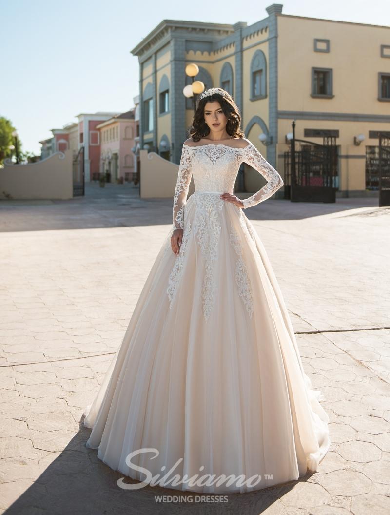 Vestido de novia Silviamo S-408-Andromeda