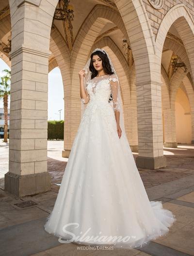 Свадебное платье Silviamo S-410-Alison