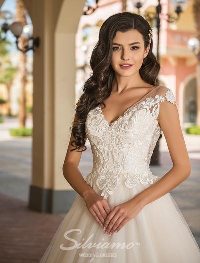 Rochie de mireasa Silviamo S-411-Andrea