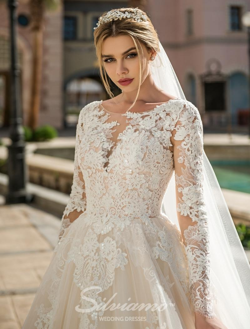 Suknia ślubna Silviamo S-417-Angel