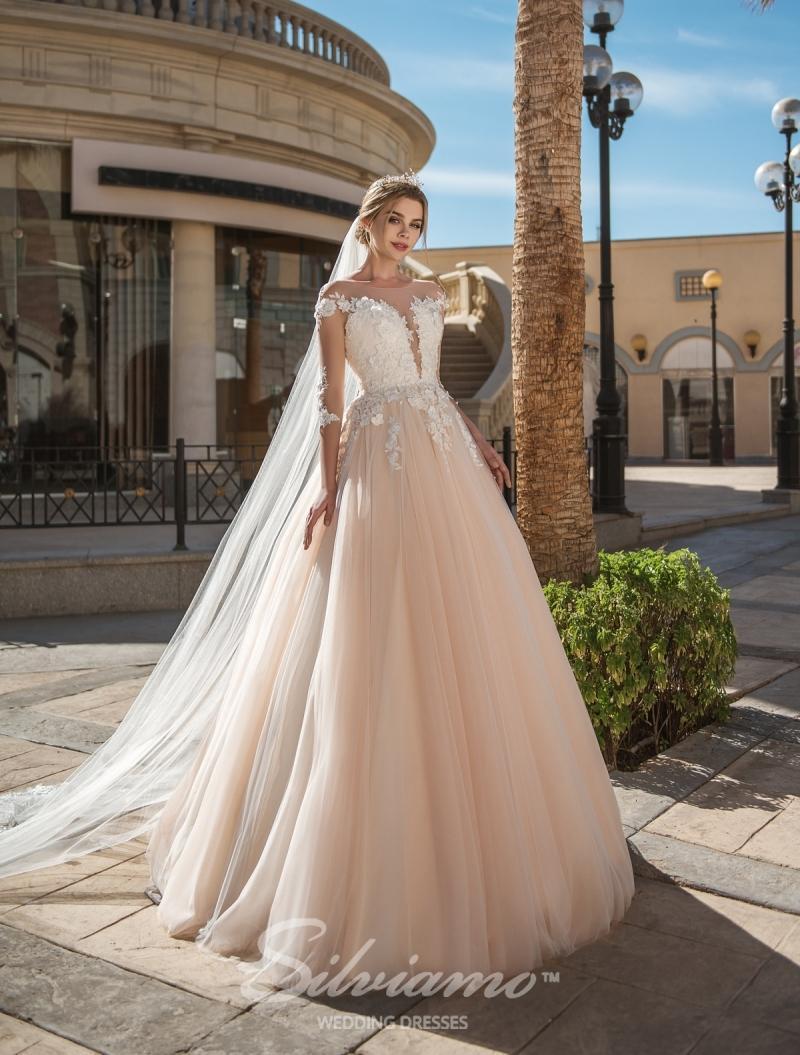 Vestido de novia Silviamo S-418-Adalyn