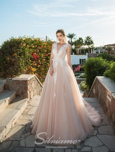 Свадебное платье Silviamo S-421-Agnes