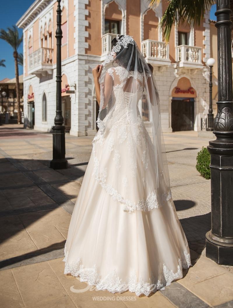 Свадебное платье Silviamo S-424-Alana