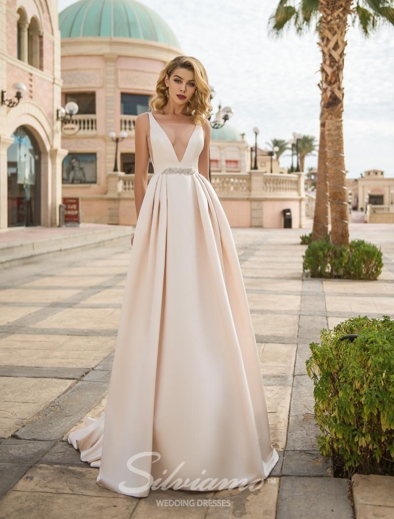 Vestido de novia Silviamo S-425-Agata