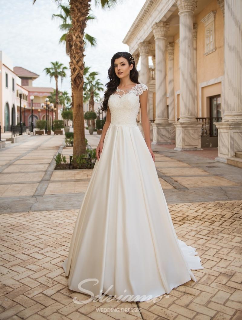 Свадебное платье Silviamo S-427-Albina