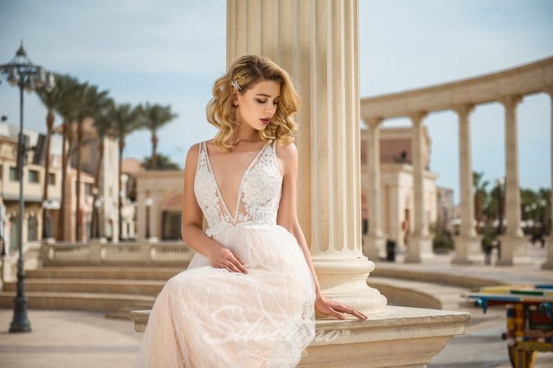 Свадебное платье Silviamo S-428-Abby