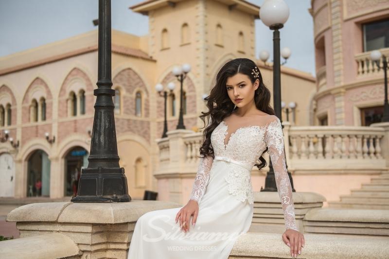 Свадебное платье Silviamo S-440-Aubre