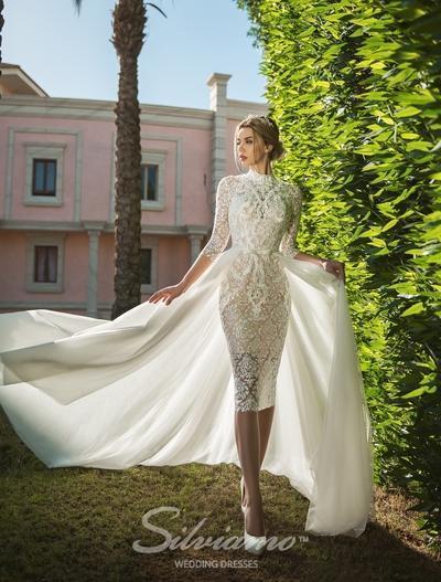 Свадебное платье Silviamo S-441-Alba