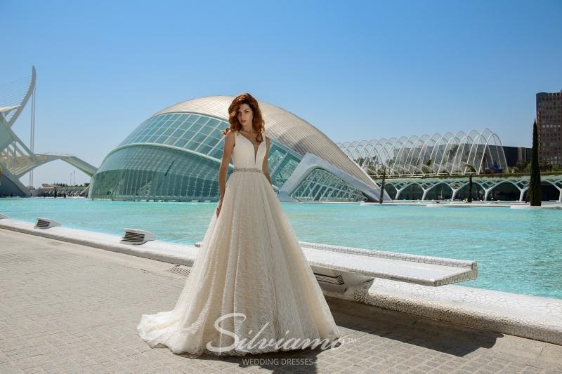 Свадебное платье Silviamo S-445-Vivia