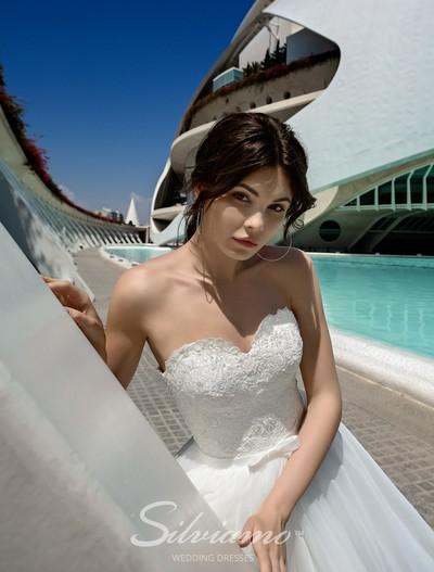 Wedding Dress Silviamo S-446-Vara