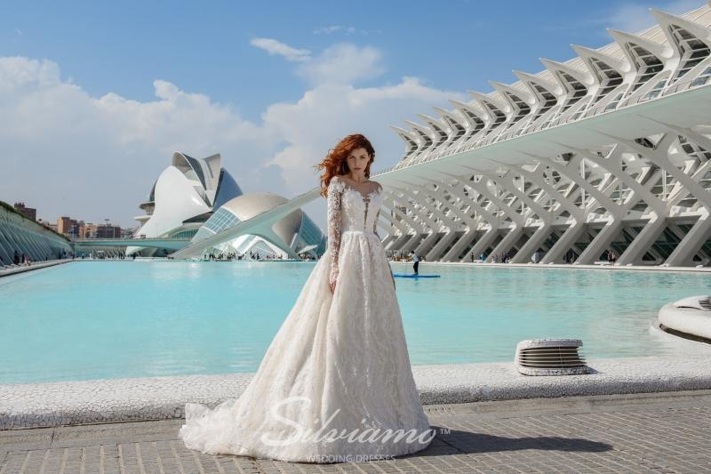 Свадебное платье Silviamo S-447-Vitalina