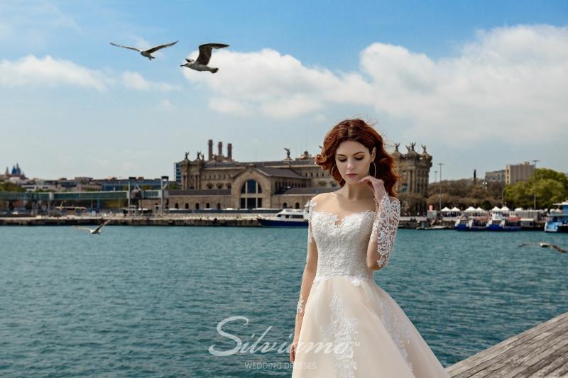 Свадебное платье Silviamo S-449-Valentina