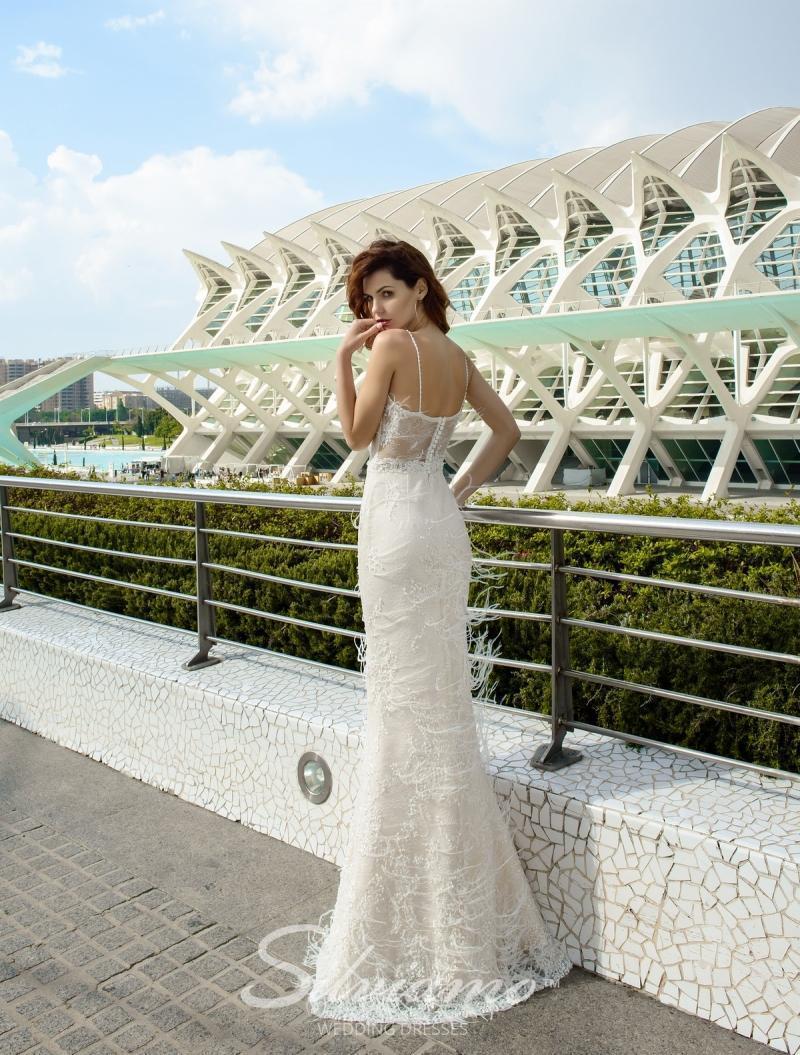 Свадебное платье Silviamo S-460-Violeta