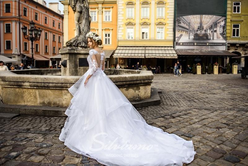 Свадебное платье Silviamo S-467-Samanta