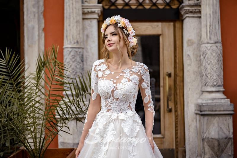 Свадебное платье Silviamo S-468-Sabrina