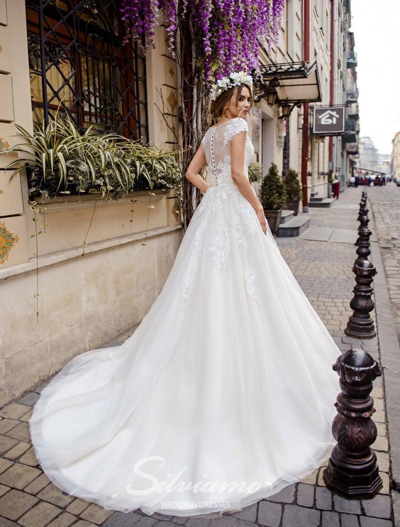 Свадебное платье Silviamo S-470-Sandra